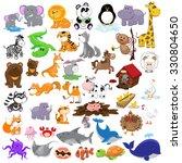 big animals set   Shutterstock .eps vector #330804650