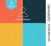 thin line art website mobile...
