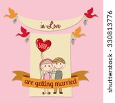 love card design  vector... | Shutterstock .eps vector #330813776