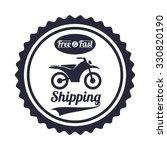 delivery service design  vector ... | Shutterstock .eps vector #330820190