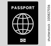 passport vector icon. style is...   Shutterstock .eps vector #330827036