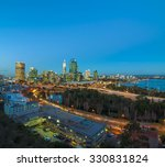 western australia   golden... | Shutterstock . vector #330831824