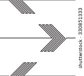 vector seamless pattern . lines ... | Shutterstock .eps vector #330851333