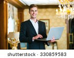 photo of businessman in... | Shutterstock . vector #330859583