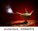 Magic Lamp From The Story Of...