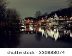 Boathouse Row In Philadelphia...