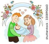 illustration of family   Shutterstock .eps vector #330890660