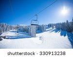 ski lift   Shutterstock . vector #330913238
