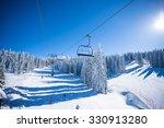 ski lift   Shutterstock . vector #330913280