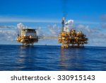 offshore industry oil and gas... | Shutterstock . vector #330915143