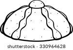 pan de muerto   Shutterstock .eps vector #330964628