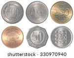 Lebanese Pound Coins Collage...