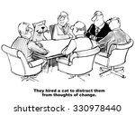 business cartoon of people in a ... | Shutterstock . vector #330978440