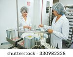 two pharmaceutical factory... | Shutterstock . vector #330982328