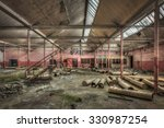Dilapidated Hall In An...