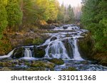 Cascading Waterfalls Located I...