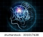 human tangents series. abstract ... | Shutterstock . vector #331017638