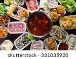 hot pot recipe | Shutterstock . vector #331035920