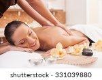 close up of hands of masseuse...   Shutterstock . vector #331039880