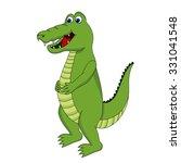 crocodile | Shutterstock .eps vector #331041548
