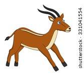 antelope | Shutterstock .eps vector #331041554