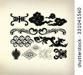 ornament for decorative design   Shutterstock .eps vector #331041560