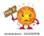 illustration cartoon character... | Shutterstock .eps vector #331050998