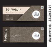 gift voucher premier color   Shutterstock .eps vector #331068614