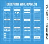 mobile wireframe app ui kit 31. ...