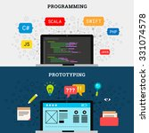 mobile application prototyping...