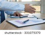 businessman in the office work | Shutterstock . vector #331075370
