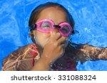 girl underwater   Shutterstock . vector #331088324