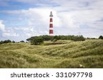 View Of The Ameland Lighthouse...