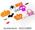 halloween party  props | Shutterstock . vector #331113800