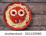 Scary Halloween Food Pasta...