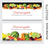 abstract design banners with... | Shutterstock .eps vector #331121774