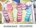 colorful turkish bath towels...   Shutterstock . vector #331139453