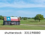 Texas Lone Star Barn