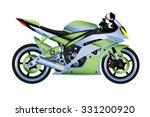sport bike | Shutterstock .eps vector #331200920