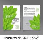 editable a4 poster for design ... | Shutterstock .eps vector #331216769