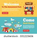 public park  amusement park...   Shutterstock .eps vector #331223606