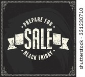 black friday vector label... | Shutterstock .eps vector #331230710