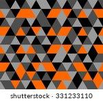 Tile Background With Orange ...