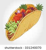 hand drawn vector illustration... | Shutterstock .eps vector #331240070
