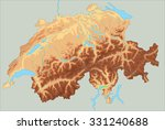 Swiss Map Free Vector Art 2620 Free Downloads