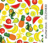 vector seamless pattern with... | Shutterstock .eps vector #331254830