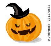 pumpkin for helloween. vector... | Shutterstock .eps vector #331270688