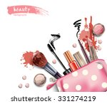 cosmetics and fashion... | Shutterstock .eps vector #331274219