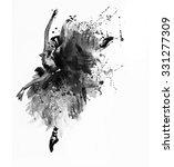 watercolor ballerina | Shutterstock . vector #331277309