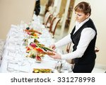restaurant catering services.... | Shutterstock . vector #331278998